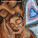 bereavement artwork gift for mother with angel baby
