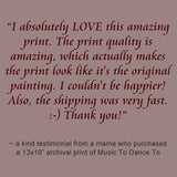 testimonials from KmBerggren art buyers