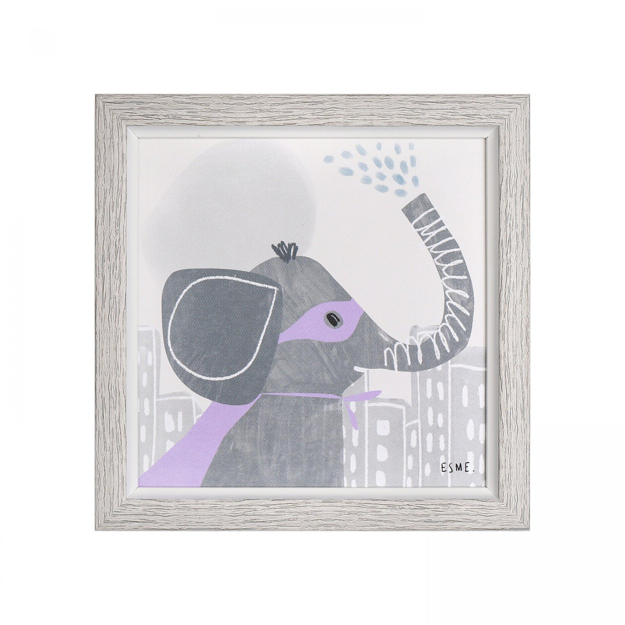 Super Strength Ellie Framed Print