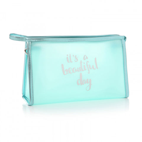 'It's a Beautiful Day' Washbag