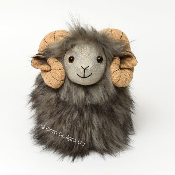 Posh Herdy Herdwick Sheep Doorstop