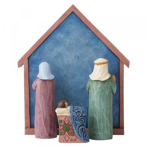 Blessed Bethlehem (4 Piece Nativity Set)