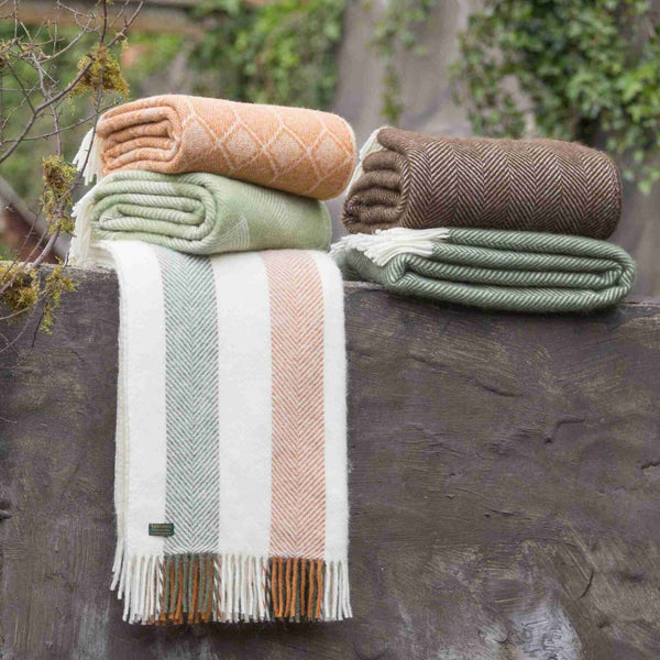 Stripe Woodland Throw