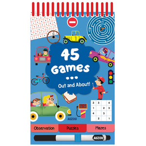 45 Games Out & About Activity Book