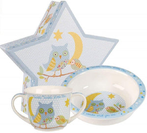 Little Rhymes Blue Twinkle Mug & Bowl Set