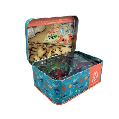 Biscuit Baking Fun Gift in a Tin