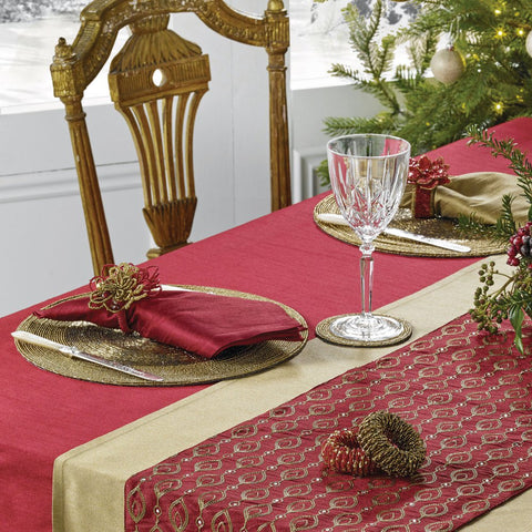 Red Decorative Napkins (Set of 4)