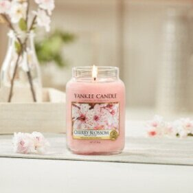 Cherry Blossom Large Candle