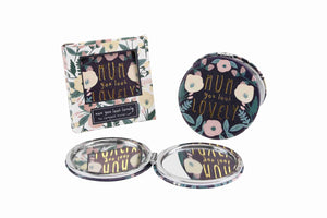 'Mum You Look Lovely' Compact Mirror