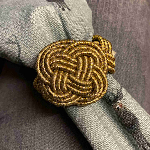 Twisted Knot Napkin Ring