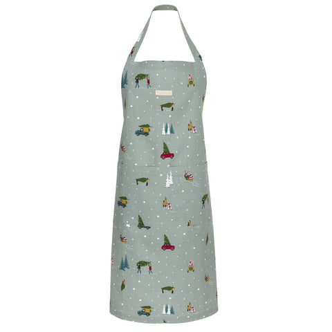 Home for Christmas Adult Apron