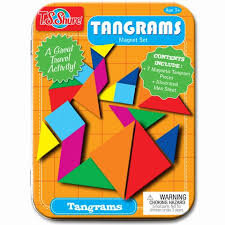Tangrams Magnetic Tin