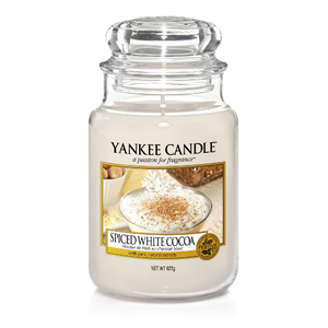 Spiced White Cocoa Large Candle