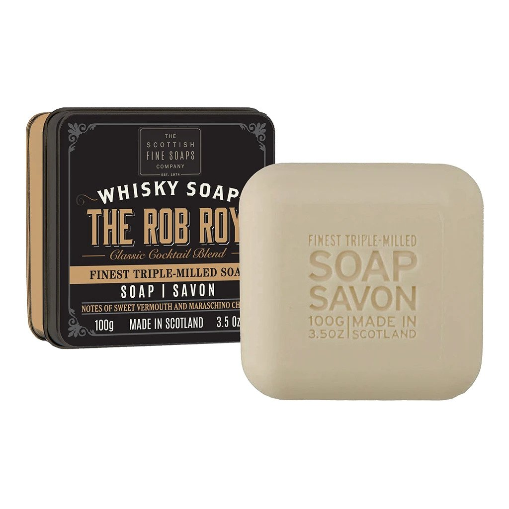 Rob Roy Whisky Soap in a Tin