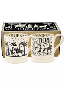 'We Three Kings' Mugs Set of 2