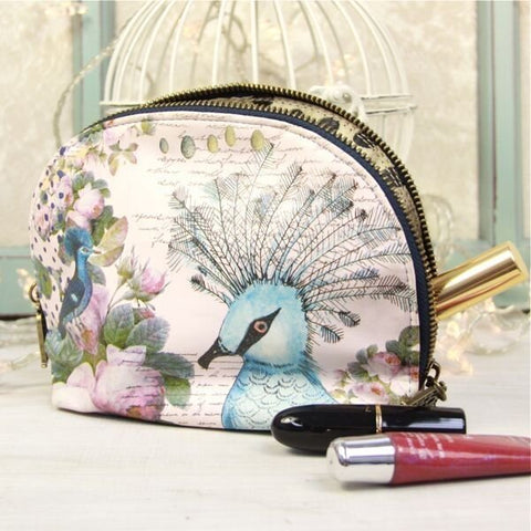 Aviary Make Up Bag