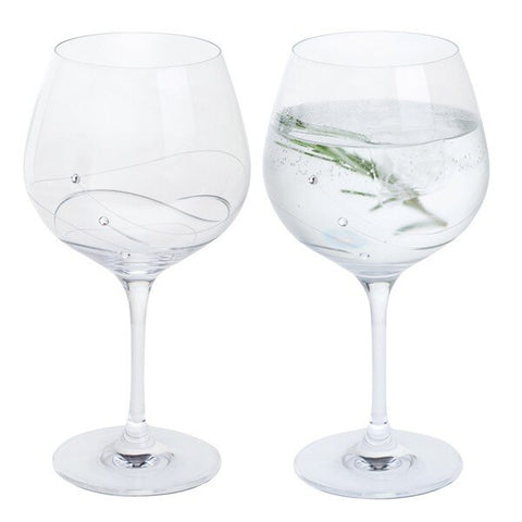 Glitz Gin & Tonic Copa Glasses (Pair)