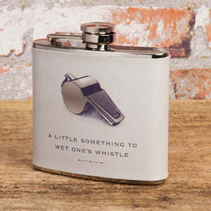 Wet Ones Whistle Hip Flask