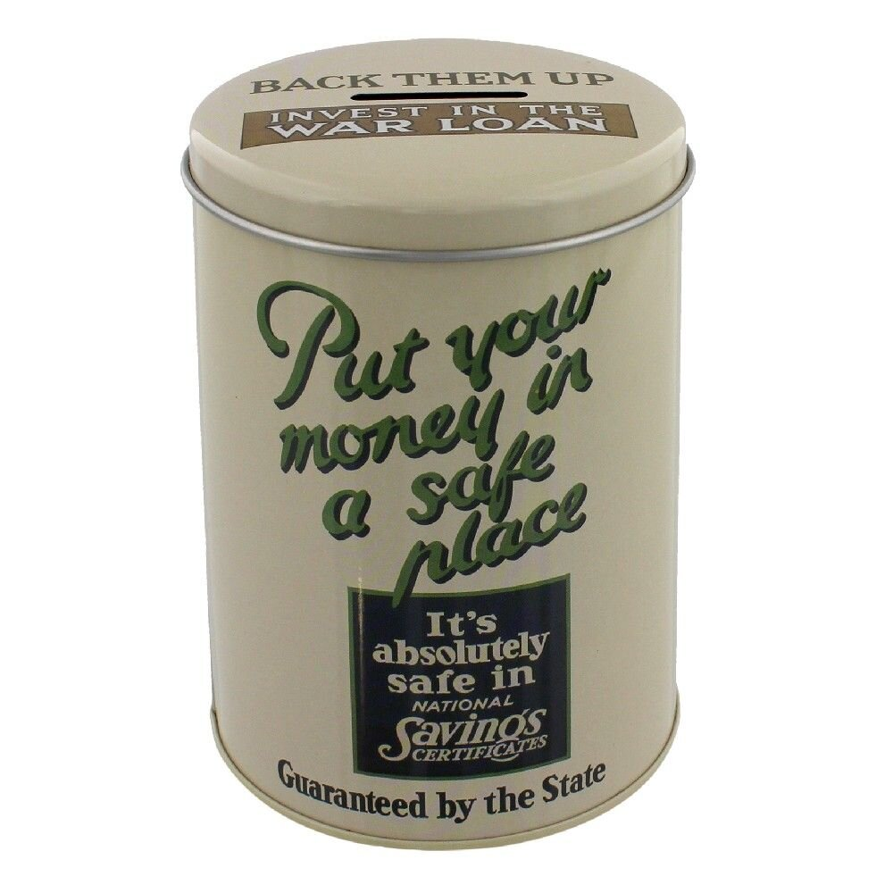 WW2 Money Tin