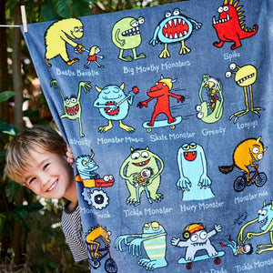 Monster Children's Towel