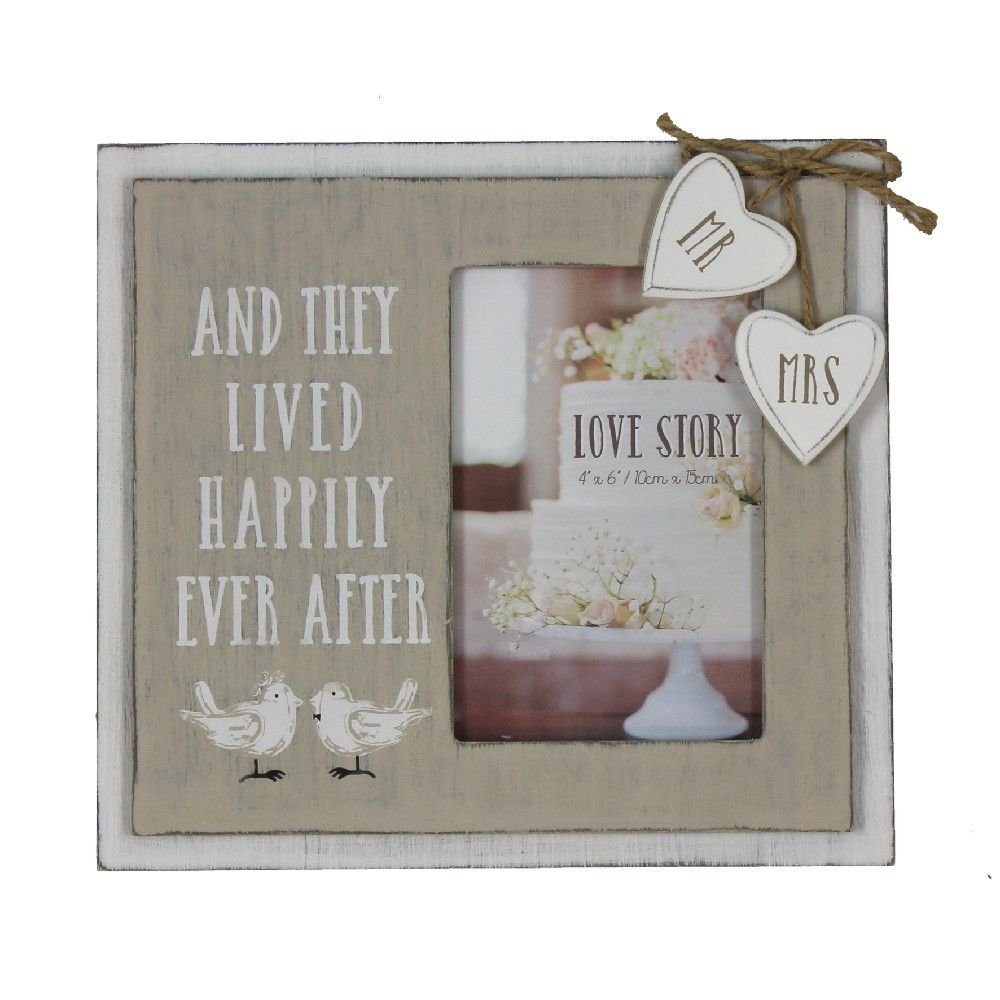 Happily Ever After Photo Frame (6 x 4)