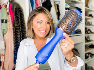 3-in-1 Blow Dry Brush for Styling and Frizz Control