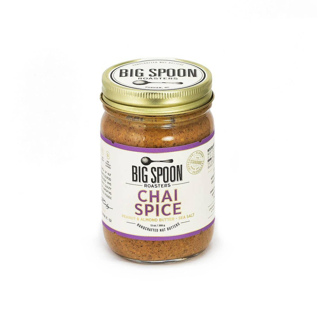 Big Spoon Roasters Chai Spice Nut Butters