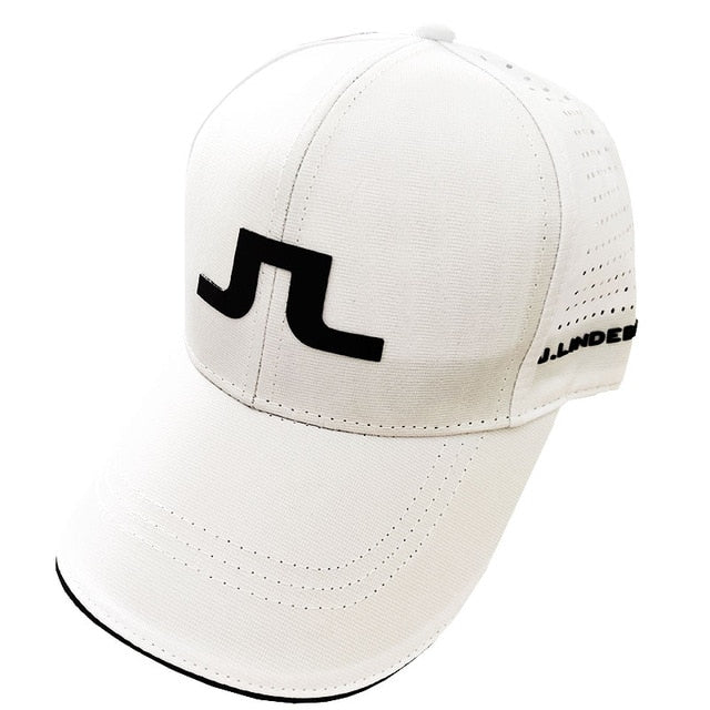 J.L adjustable golf cap
