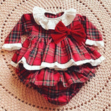 Baby Christmas Princess Romper