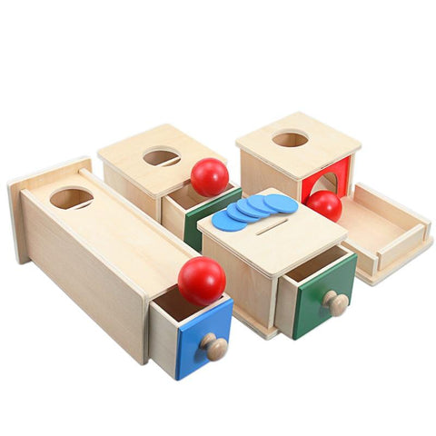 Timber Toddler Montessori Match Ball Box Set