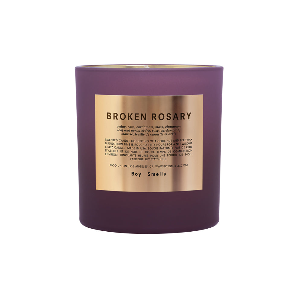 Boy Smells Candle – Broken Rosary