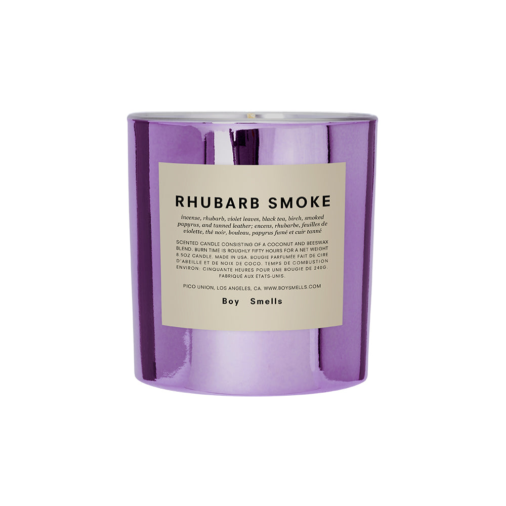 Boy Smells Candle – Rhubarb Smoke