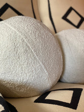 Load image into Gallery viewer, Boucle wool ball cushions