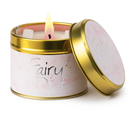 Lily-Flame Fairy Dust Candle Tin - Coorie Doon