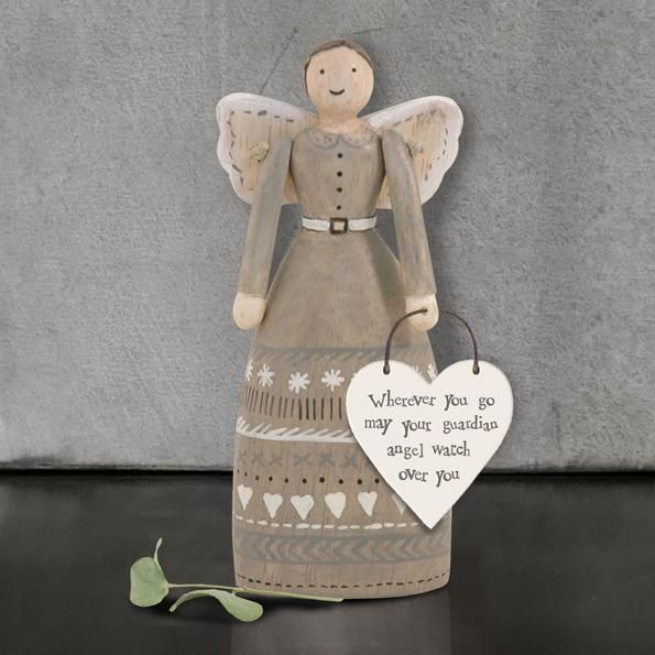 East of India Guardian Angel - Wherever You Go... - Coorie Doon