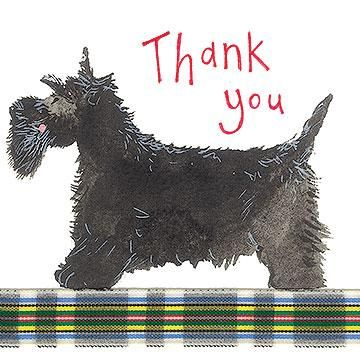Card: Thank You Dog - Coorie Doon