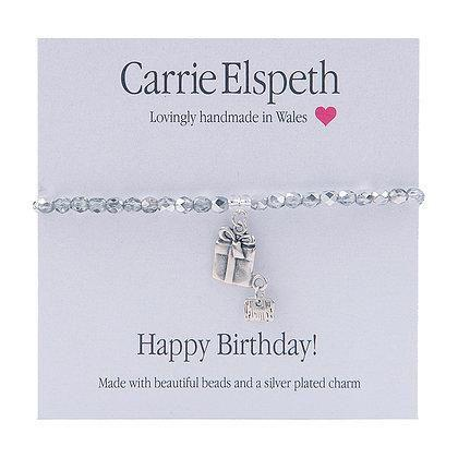 Carrie Elspeth Happy Birthday Sentiment Bracelet - Coorie Doon
