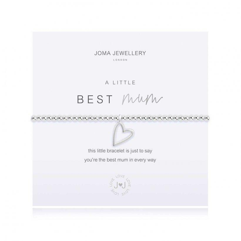 Joma Jewellery A Little Best Mum Bracelet - Coorie Doon