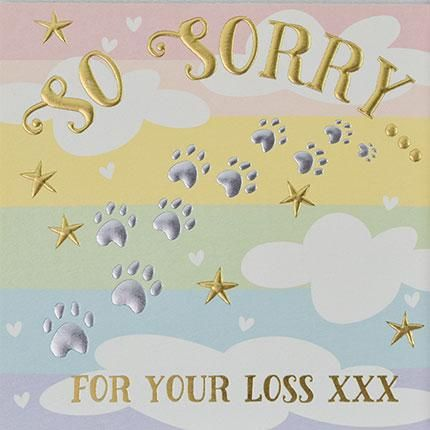 Card: So Sorry For Your Loss (Pet) - Coorie Doon