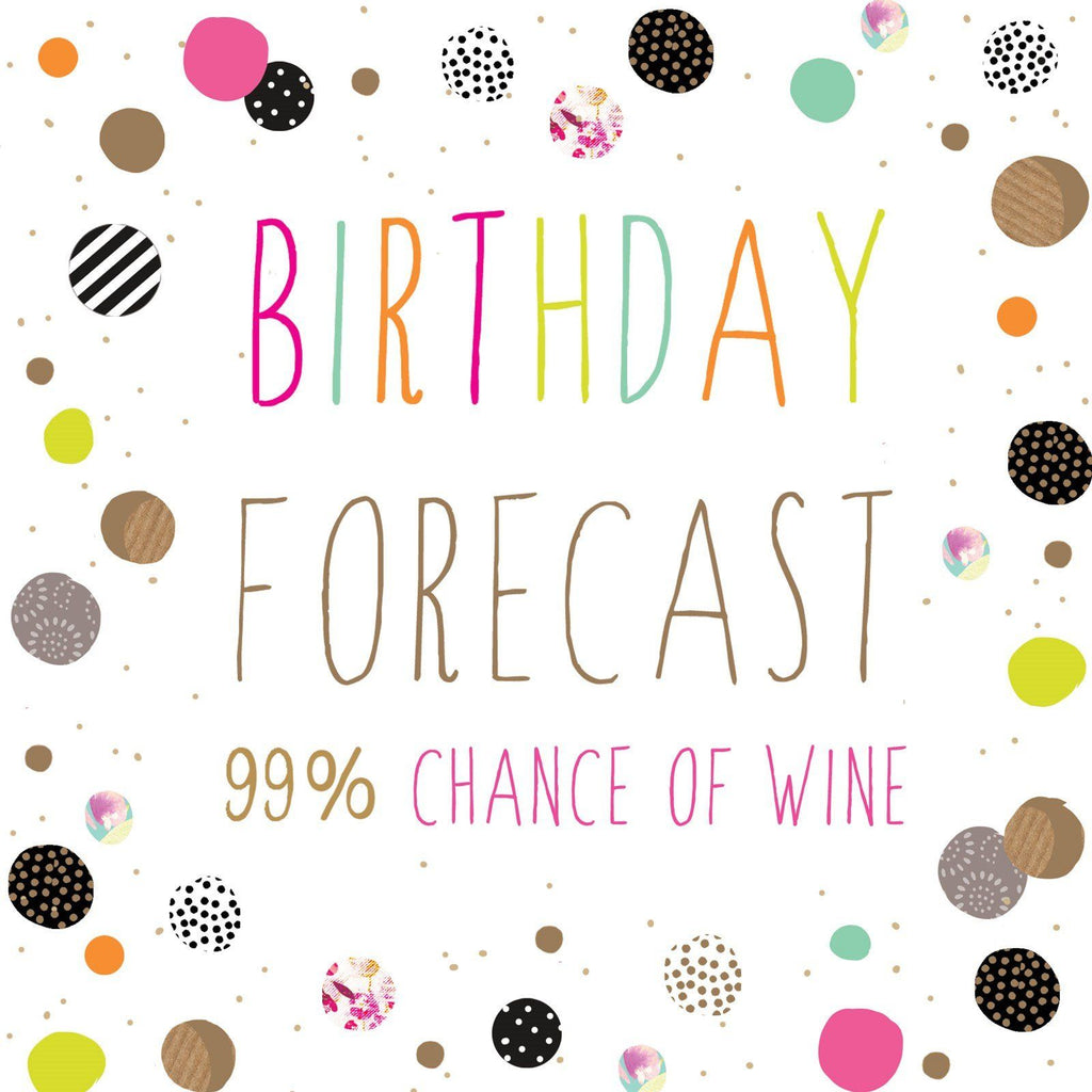 Card: Birthday Forecast - Coorie Doon