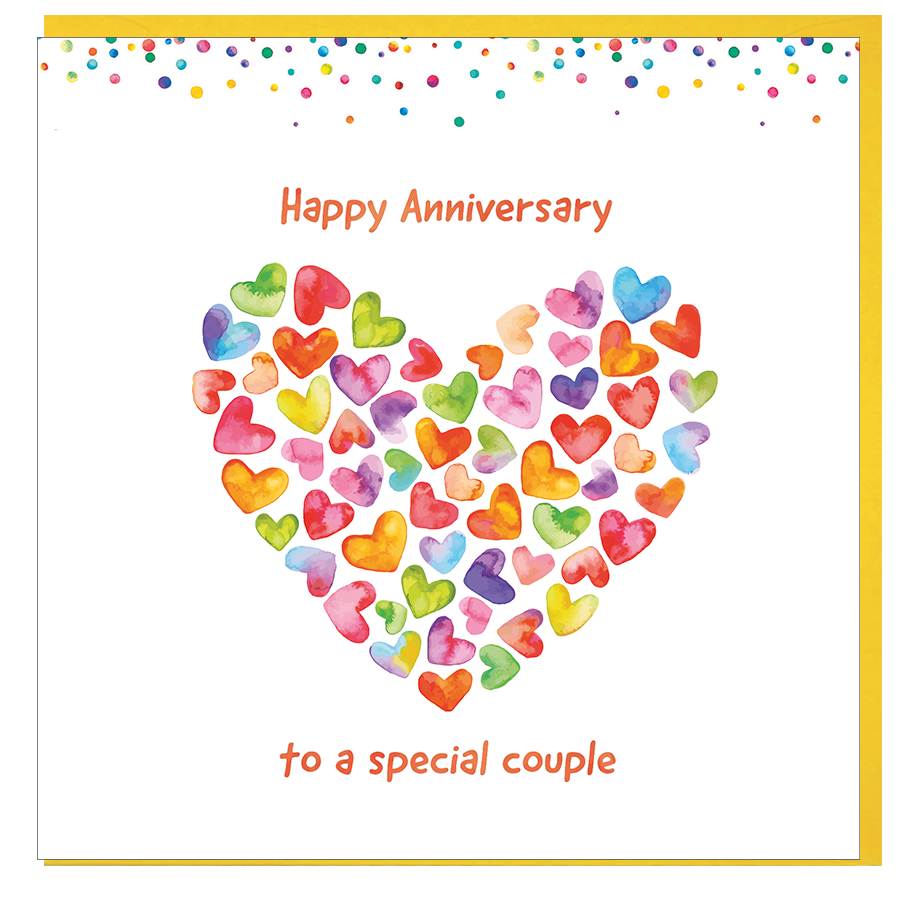 Card: Happy Anniversary - Coorie Doon