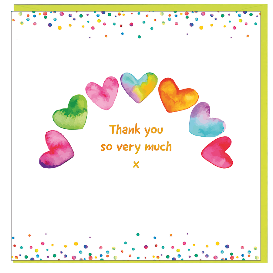 Card: Thank You - Coorie Doon