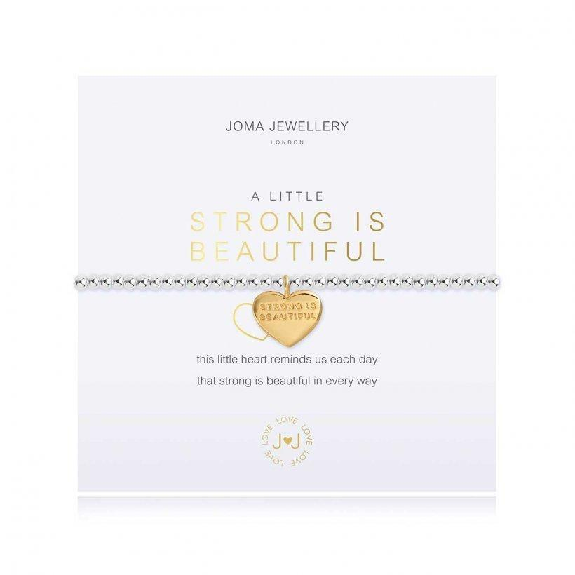 Joma Jewellery - A Little Strong Is Beautiful Bracelet - Coorie Doon