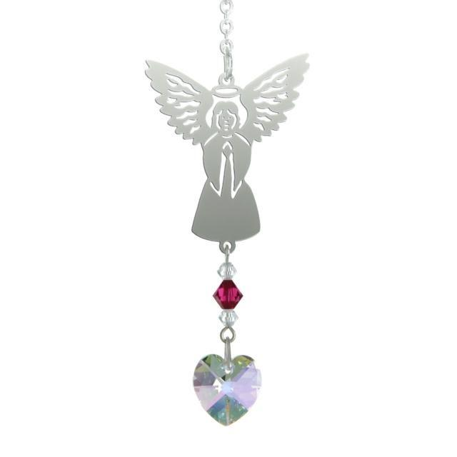 Birthstone Angel Suncatcher - July - Coorie Doon