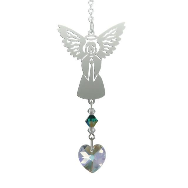 Birthstone Angel Suncatcher - May - Coorie Doon