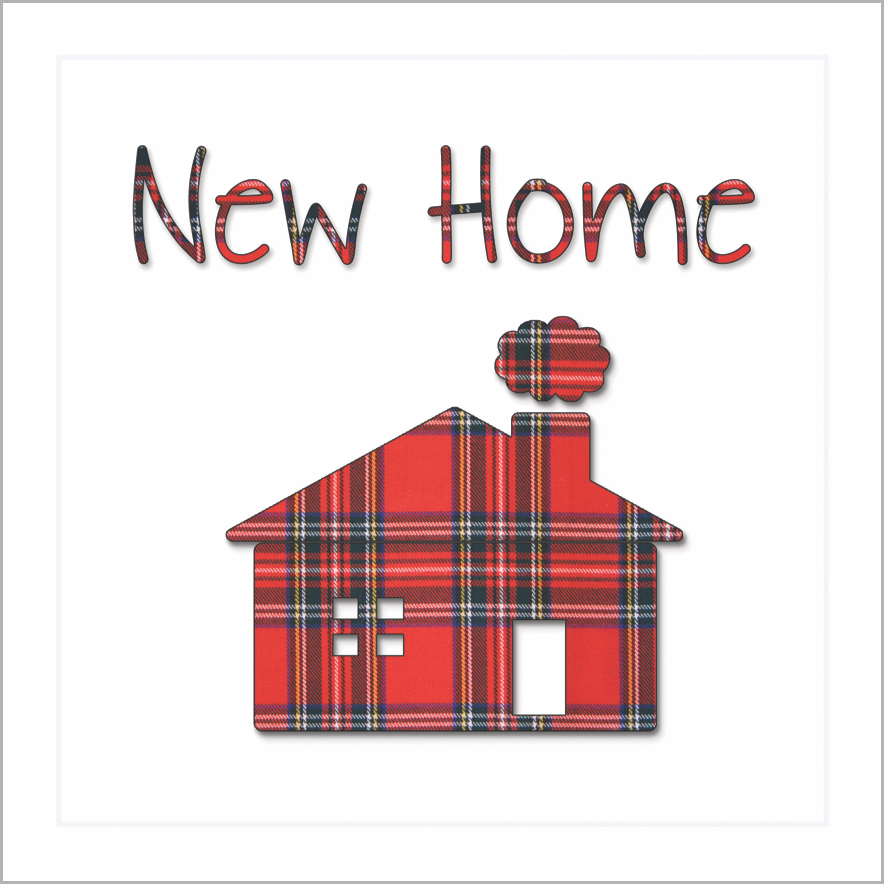 Card: New Home - Coorie Doon