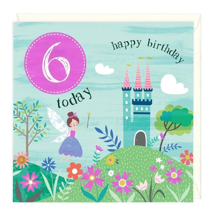 Card: 6 Today - Coorie Doon