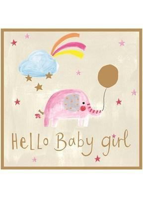 Card: Baby Girl - Coorie Doon