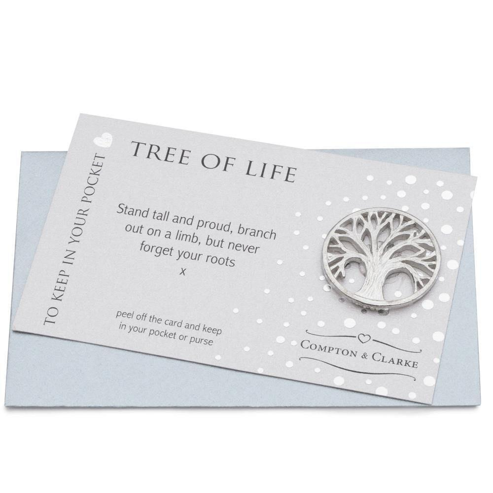 Pocket Charm - Tree of Life - Coorie Doon