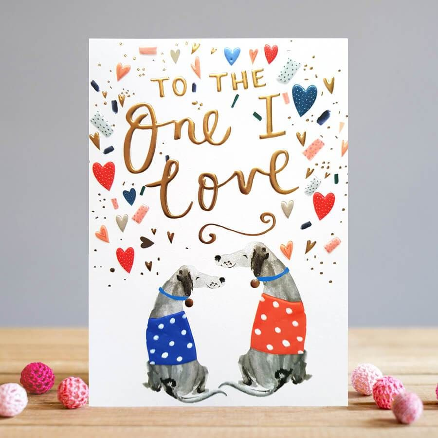 Card: One I Love Dogs - Coorie Doon